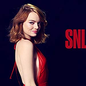 """Herself - Host, Herself, Juliette, Various, Chrissy Knox, Cleaning Crew Singer, Emma Stone, Emma Stone (segment """"Star Wars Auditions""""), Gwen Stacy, Lindsay Lohan..."""