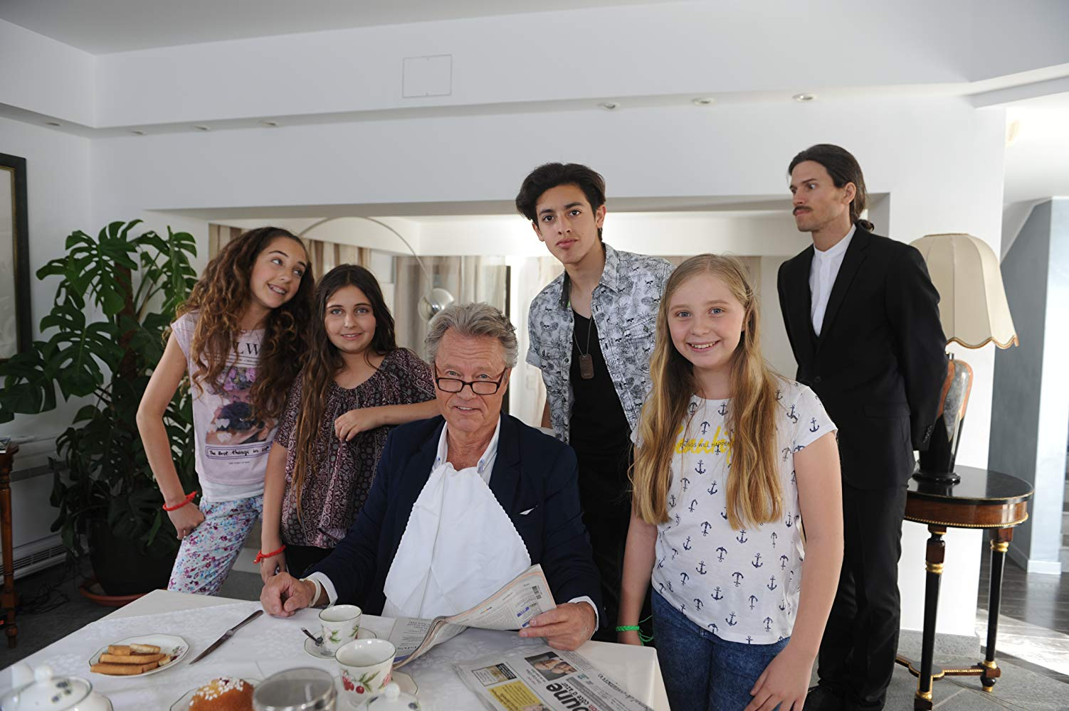 6 Children & 1 Grandfather