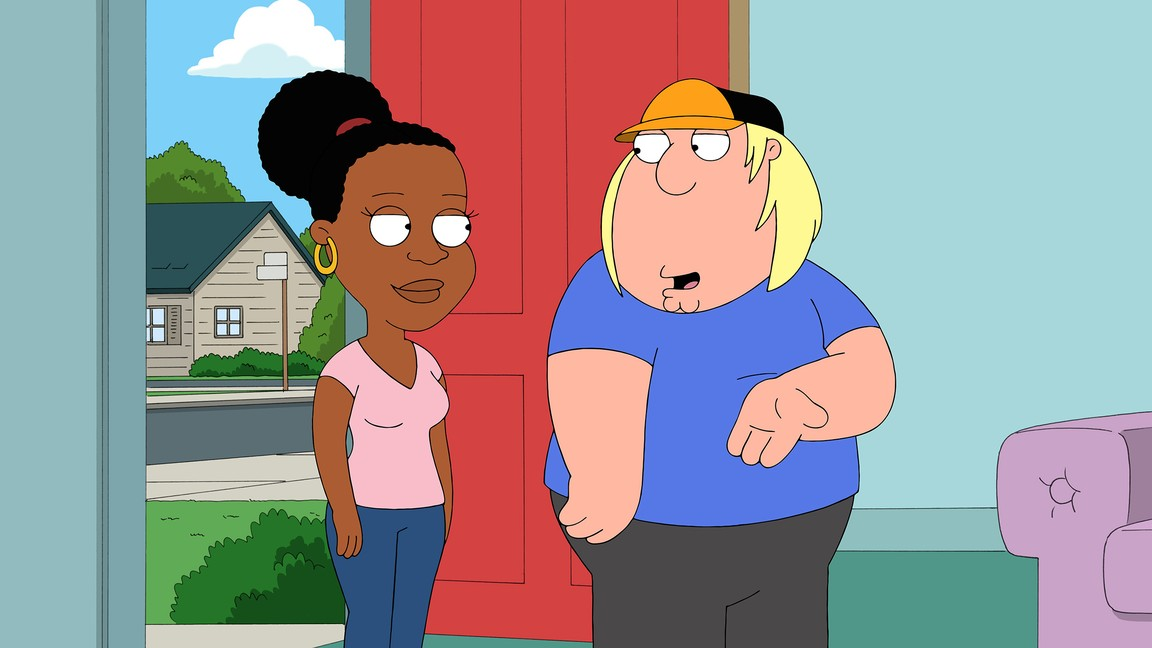 Family Guy - Season 12 Episode 18: Baby Got Black