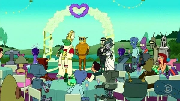 Futurama - Season 6 Episode 18: The Silence of the Clamps