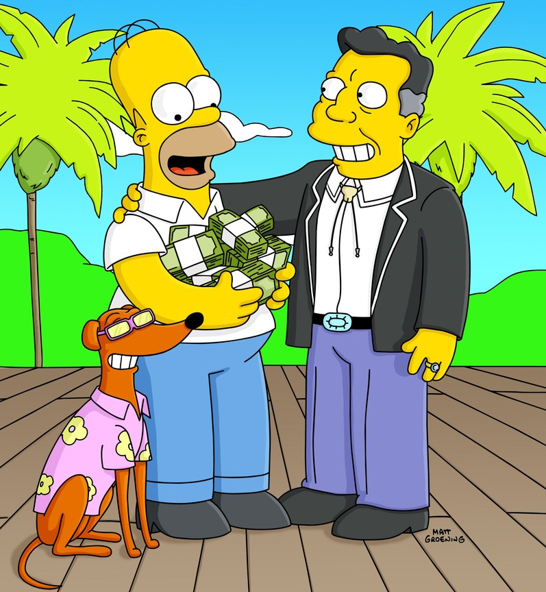 The Simpsons - Season 14 Episode 19: Old Yeller-Belly