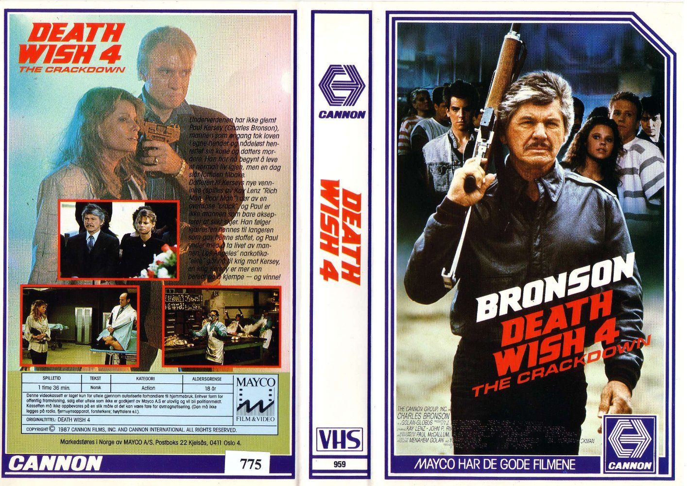 Death Wish IV Action