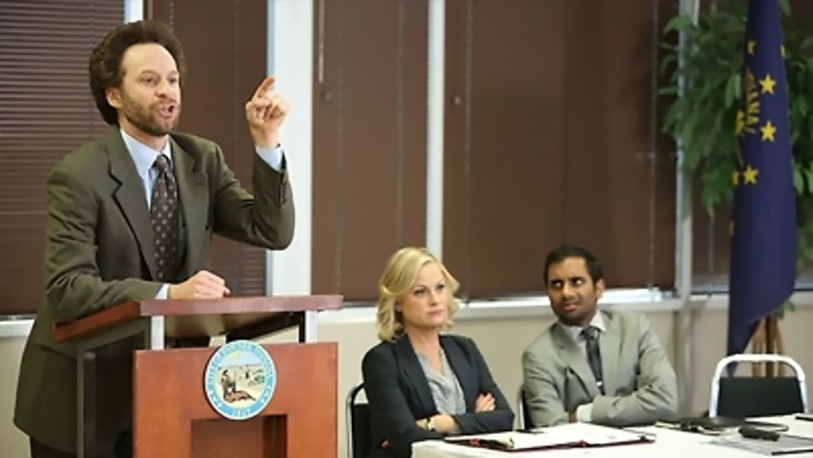 Parks and Recreation - Season 6 Episode 09: The Cones of Dunshire