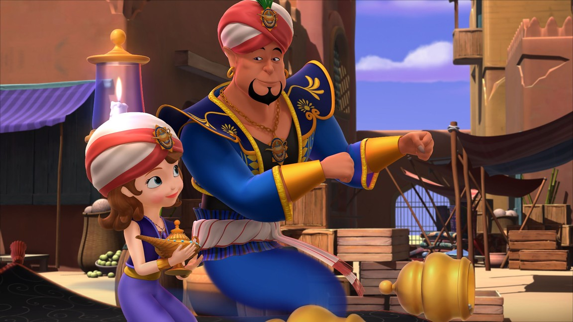Sofia the First - Season 3 Episode 7: New Genie on the Block