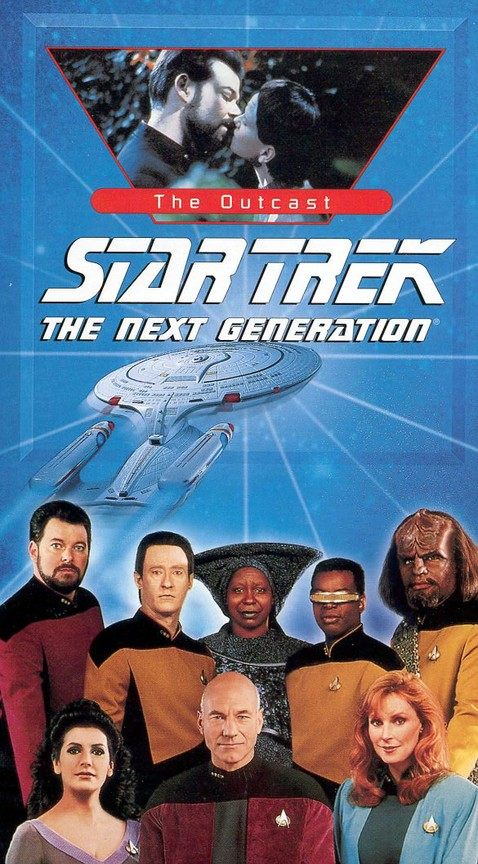 Star Trek: The Next Generation - Season 5 Episode 17: The Outcast